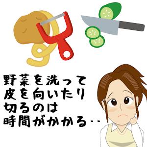 調理の時短