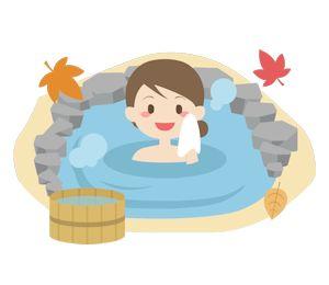 登山の後の温泉02