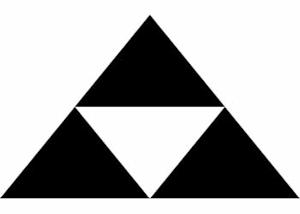 北条家の家紋三つ鱗