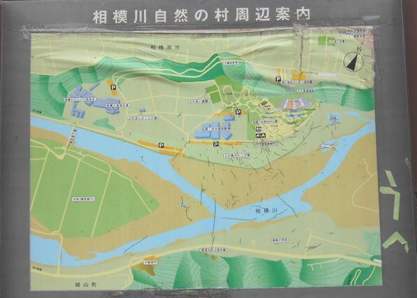 上大島キャンプ場地図