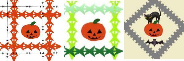 ハロウィン包装紙005 - コピー