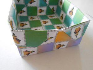 2枚重ね折紙の箱002 - コピー