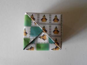 2枚重ね折紙の箱010 - コピー
