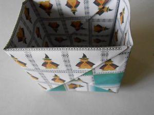 2枚重ね折紙の箱008 - コピー
