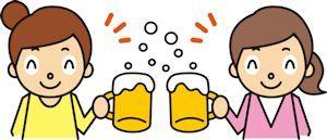 飲酒後の顔のむくみ02 - コピー
