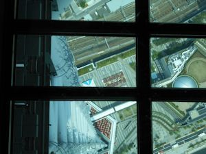 東京スカイツリーガラスの床 - コピー