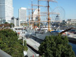 帆船日本丸02 - コピー