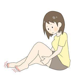 しもやけの足指02 - コピー