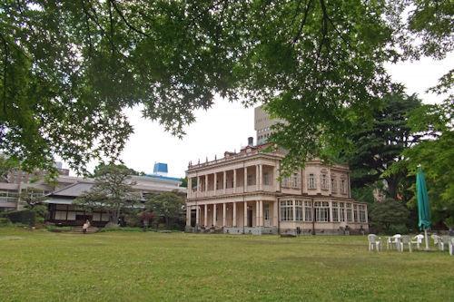 旧岩崎邸庭園02 - コピー