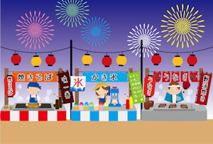 神明の花火大会03 - コピー
